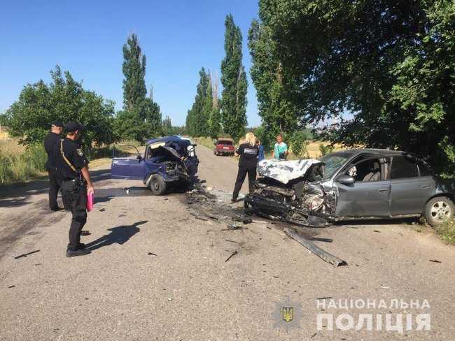 На Николаевщине в ДТП погиб 10-летний мальчик, который находился за рулем. ФОТО