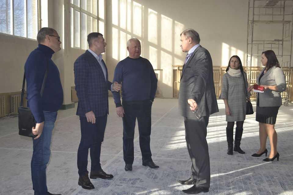 Продолжаются ремонтные работы в Политехническом техникуме Конотопского института СумГУ