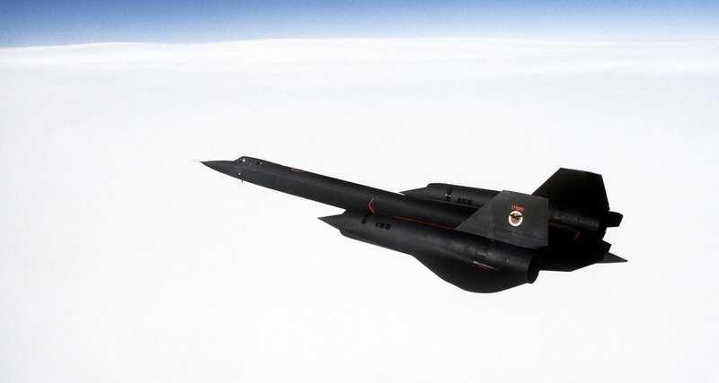 Найшвидший в світі літак Lockheed SR-71 «Blackbird»