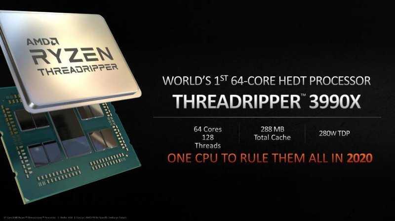 Створено перший у світі 64-ядерний процесор для десктопу