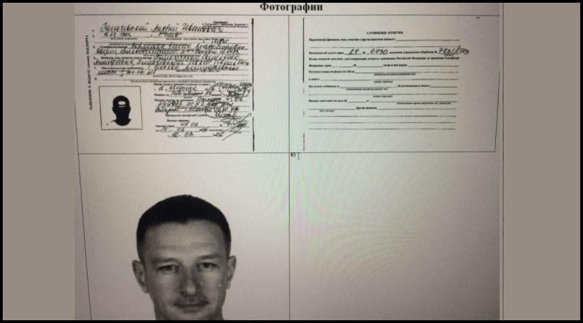 У Пальчевського російські паспорти. В 2000 році він був військовослужбовцем РФ. Документи.
