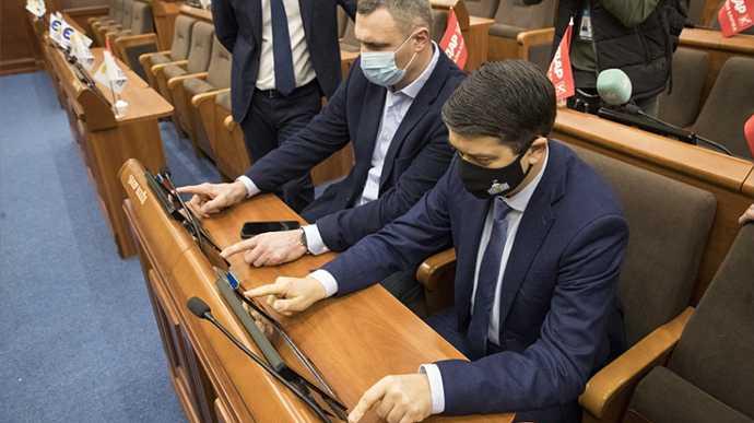 Кличко повчив Разумкова, як правильно голосувати