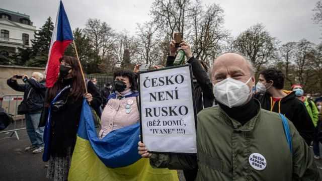 Історія чесько-російських взаємин останніх двох тижнів дуже показова