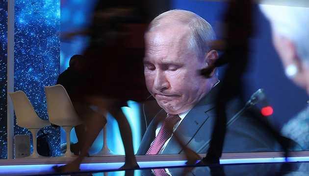 Смешные угрозы Путина на параде