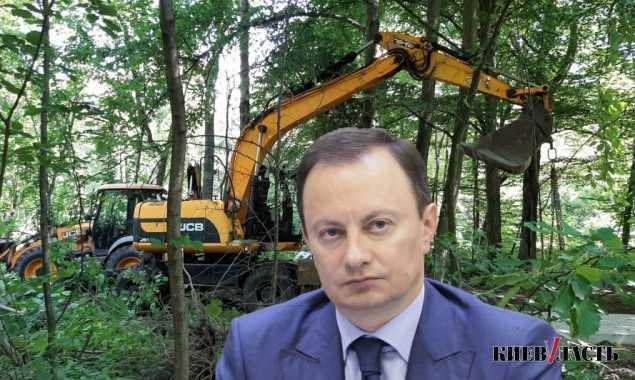 Экс-нардеп Андриевский ради нового ЖК уничтожил дубовый лес