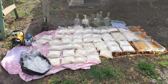 СБУ накрыла очередную нарколабораторию «Химпрома». Проверяют причастность Кости Калоши (Константина Бедового)