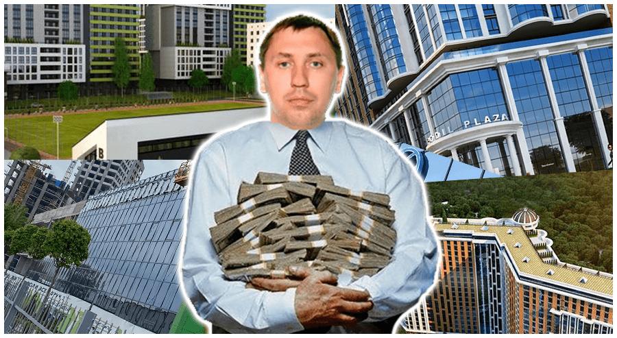Андрій Стріхарський «слуга» аферист та його будівельні піраміди (за матеріалами кримінальних справ)